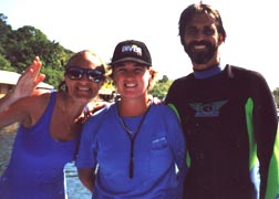 Jon and Karin with Trainer